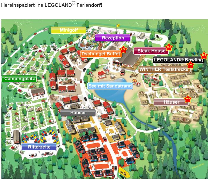 Legoland Feriendorf Übernachtungsgutscheine