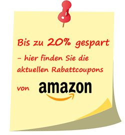 Rabattcoupons bei Amazon